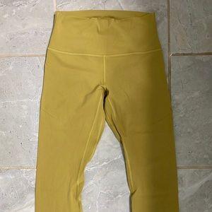 ⁉️⁉️Align Lululemon Crops Yellow⁉️⁉️